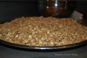 Deliciously Easy Maple Granola