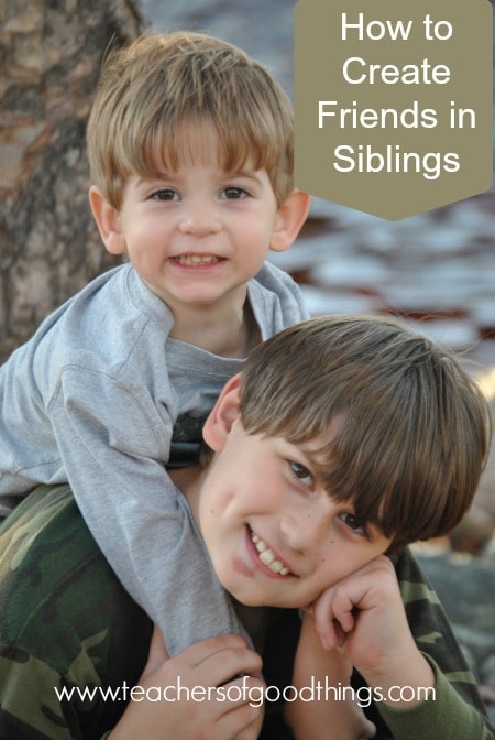 How to Create Friends in Siblings