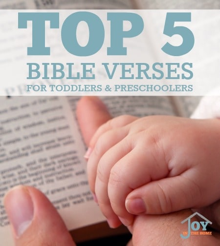 How to Teach Toddlers and Preschoolers to Pray - Joy in the Home