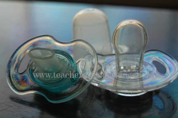 how to stop pacifier habit