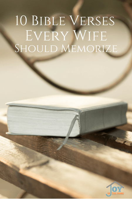 10 Bible Verses Every Wife Should Memorize