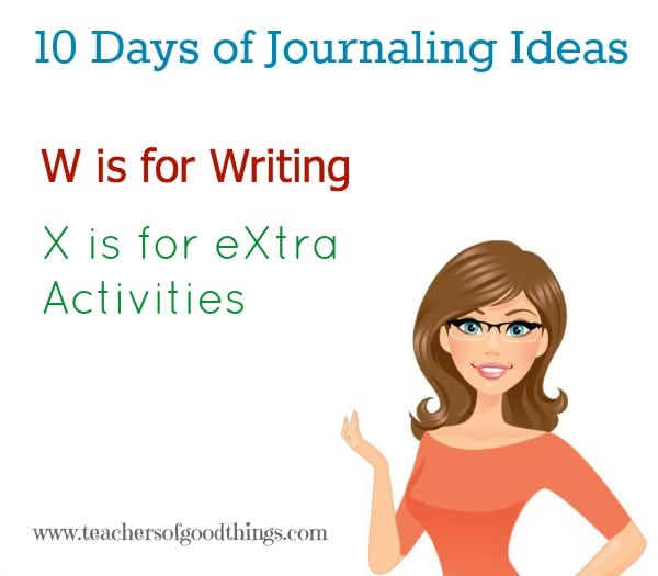 10 Days of Journaling Ideas DEF @Titus2Teacher www.joyinthehome.com shares great ideas for journaling in all subjects