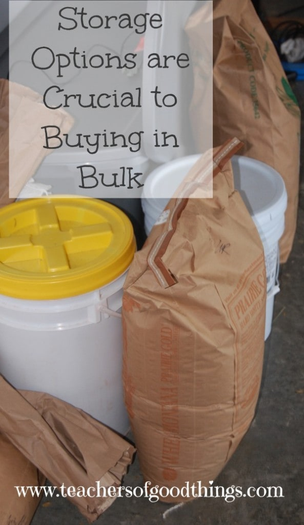 Storage Options are Crucial to Buying in Bulk | www.joyinthehome.com