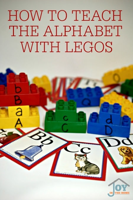 How to Teach the Alphabet with Legos