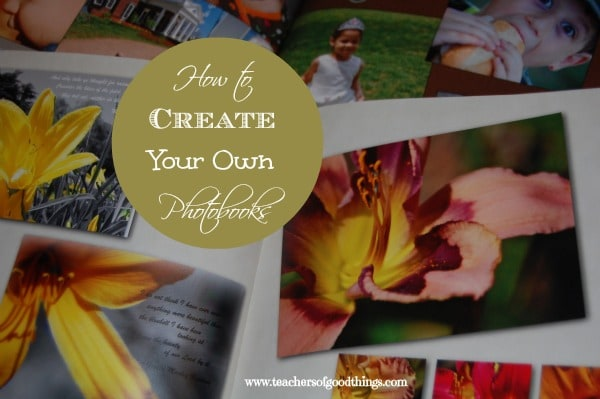 How to Create Your Own Photo Books