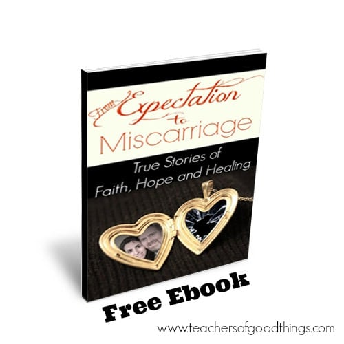 From Expectation to Miscarriage: True Stories of Faith, Hope and Healing www.joyinthehome.com