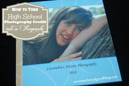 How to Turn High School Photography Credit into a Keepsake