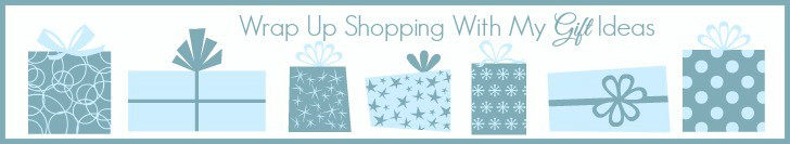 Wrap Up Shopping With My Gift Ideas www.joyinthehome.com