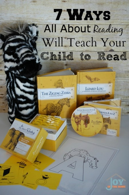 7 Ways All About Reading Will Teach Your Child to Read