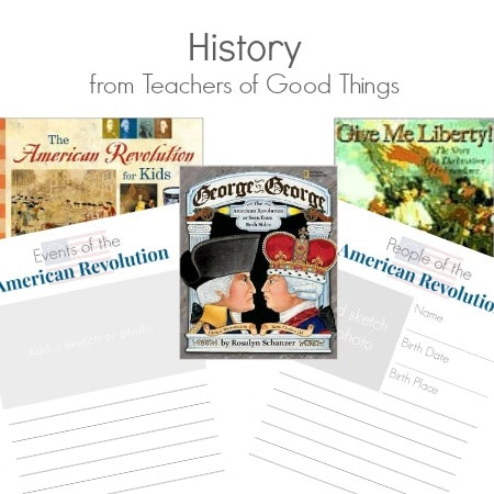 History from Teachers of Good Things