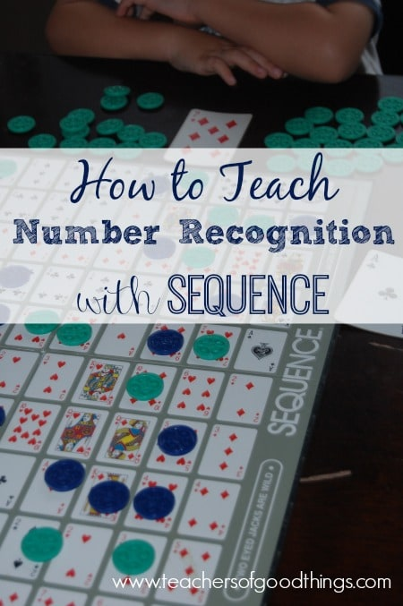 How to Teach Number Recognition with Sequence