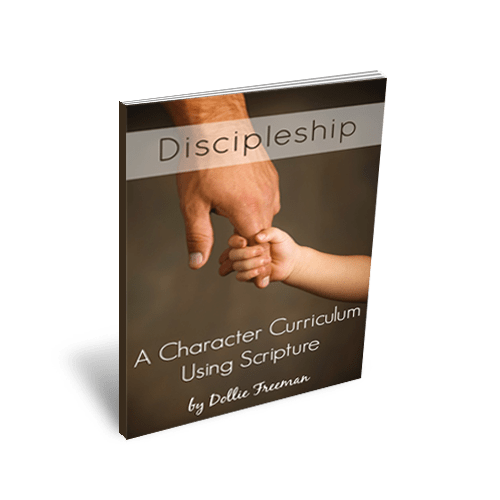 Discipleship: A Character Curriculum Using Scripture www.joyinthehome.com