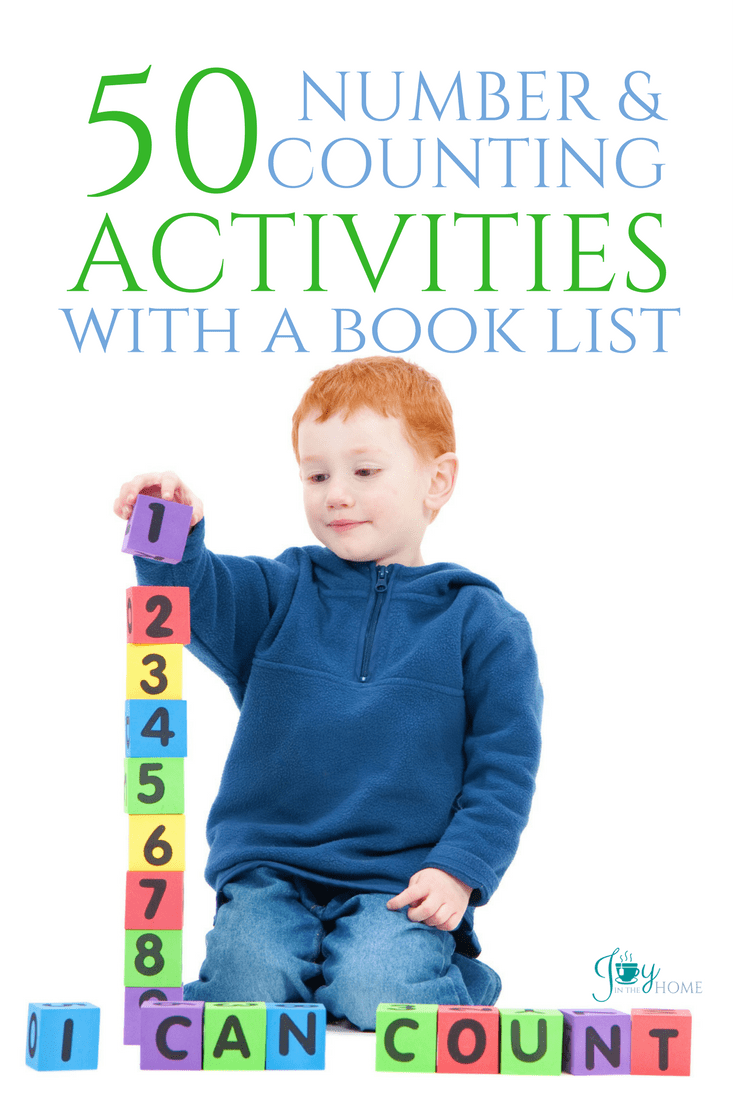 Hands-on number and counting activities that your children will love to play with while learning.