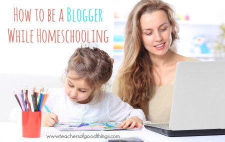 How to Be a Blogger While Homeschooling www.joyinthehome.com