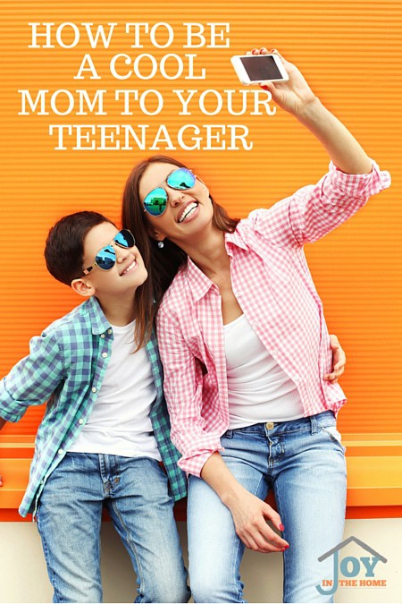 How to Be a Cool Mom to Your Teenager - Assuming you desire to eventually become your child's friend. | www.joyinthehome.com