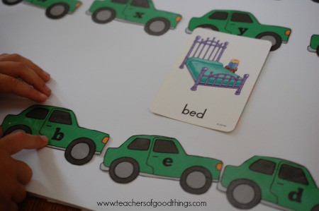 How to Teach Spelling with Cars - spell the word.jpg