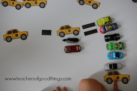 How to Teach Subtraction with Cars - answer www.joyinthehome.com.jpg