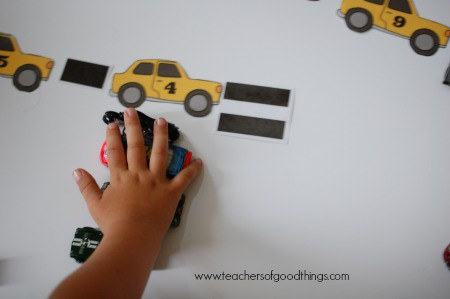 How to Teach Subtraction with Cars - take away www.joyinthehome.com.jpg