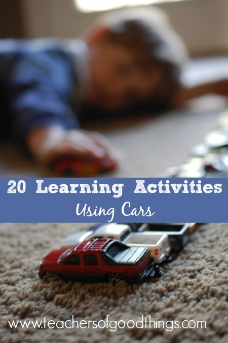 20 Learning Activities Using Cars