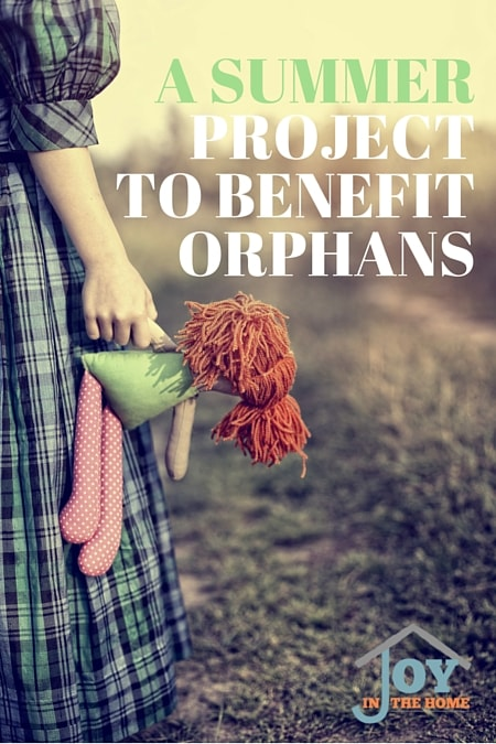 A Summer Project to Benefit Orphans