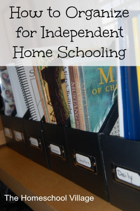 How to Organize for Independent Learning