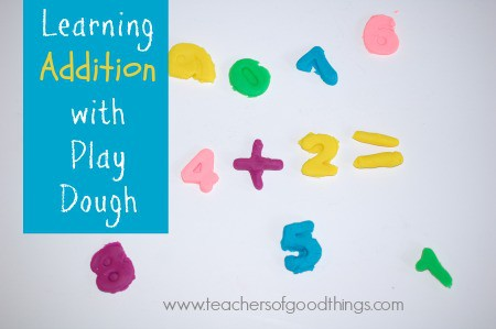 Learning Addition with Play Dough
