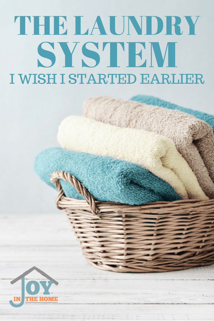 Laundry is a never ending chore that moms can't keep on top of, but this system makes it easier than ever.