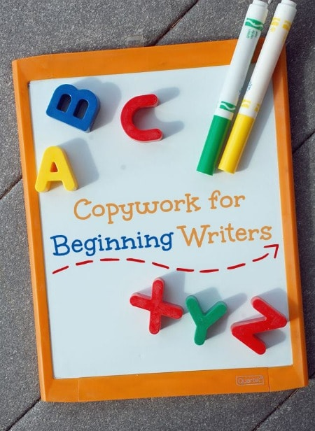 Copywork for Beginning Writers