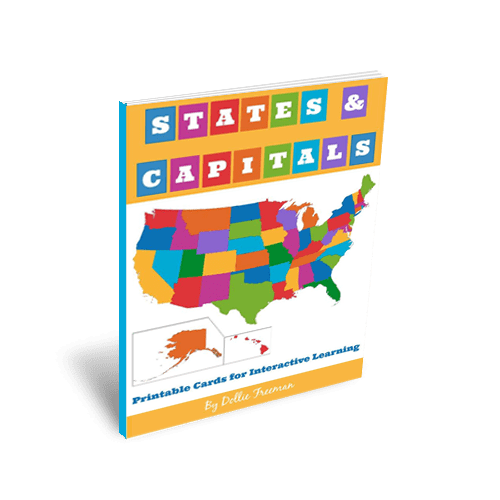 States and Capitals: Printable Cards for Interactive Learning