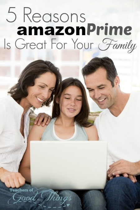 5 Reasons Amazon Prime is Great For Your Family | www.joyinthehome.com