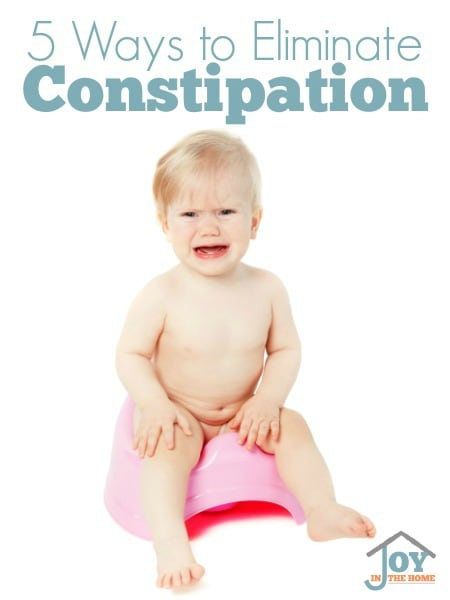 5 Ways to Eliminate Constipation
