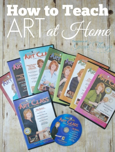 How to Teach Art at Home | www.joyinthehome.com