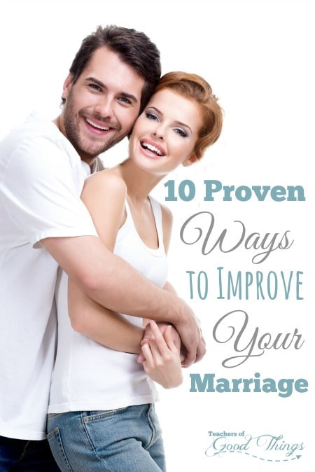 10 Proven Ways to Improve Your Marriage - Easy ways that make great results in your marriage. | www.joyinthehome.com