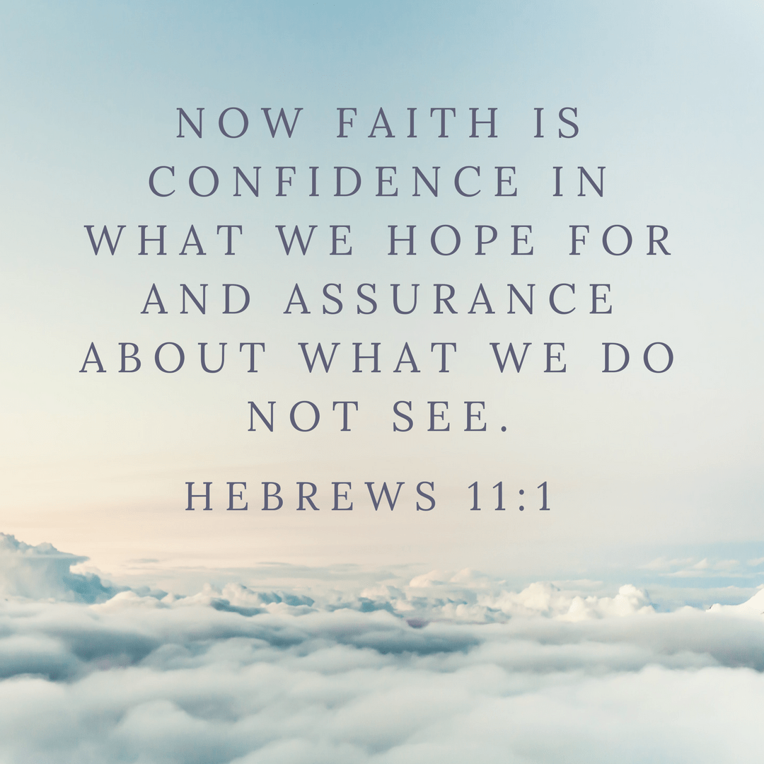 Hebrews 11:1 | www.joyinthehome.com