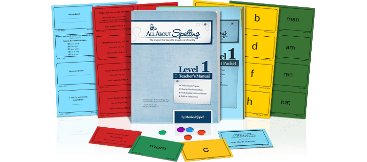 All About Spelling Level One | www.joyinthehome.com