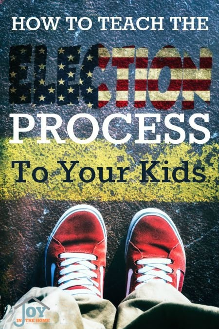 How to Teach the Election Process to Your Kids
