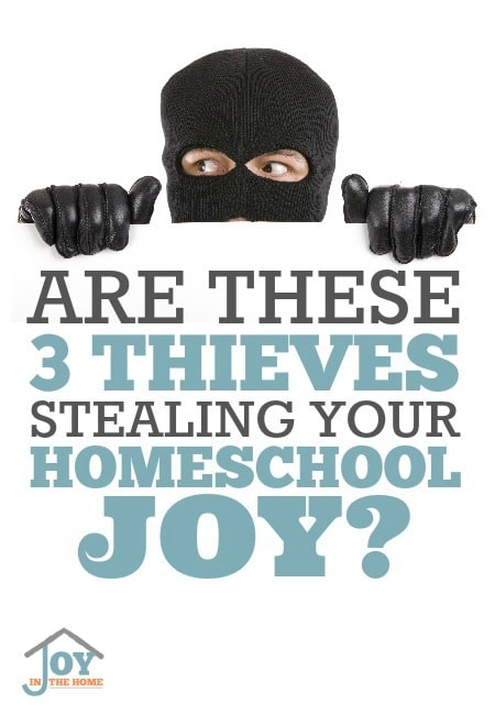Are These 3 Thieves Stealing Your Homeschool Joy