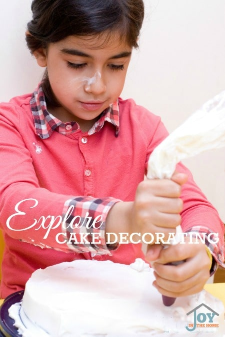 Explore Cake Decorating