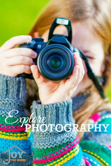 Explore Photography - Part of the 31 Days of Exploring Free AFternoon Activities | www.joyinthehome.com