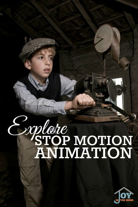 Explore Stop Motion Animation - Part of the 31 Days of Exploring Free Afternoon Activities | www.joyinthehome.com