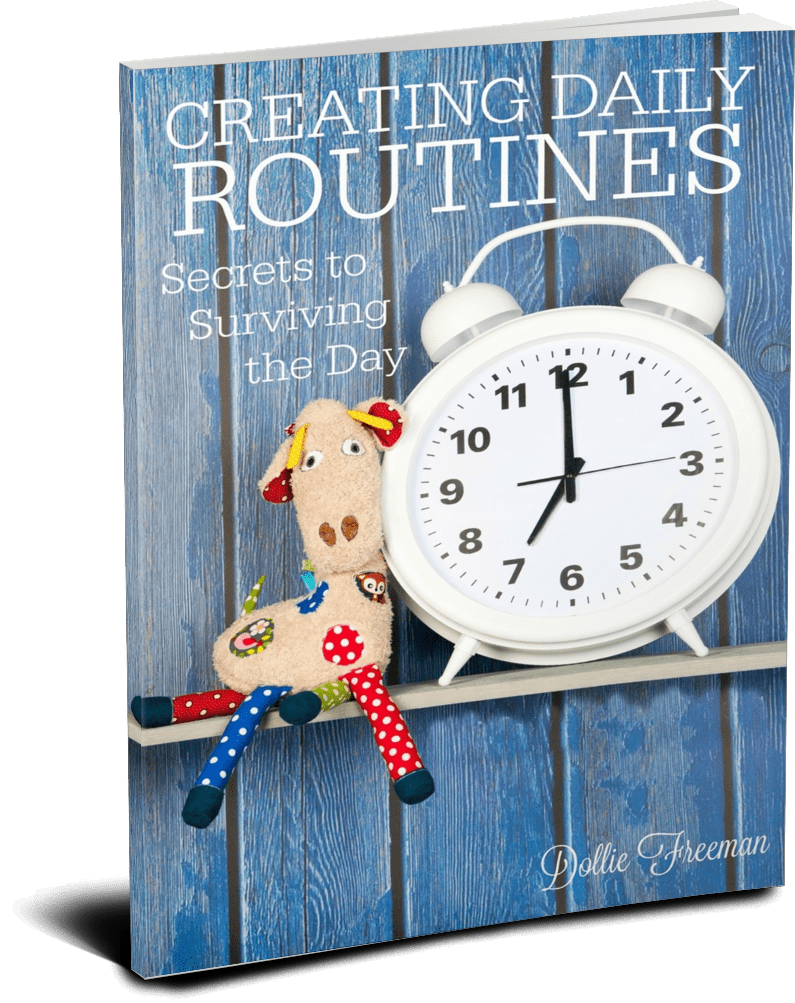 Creating Daily Routines: Secrets to Surviving the Day - Learn how to create the day that your family can actually thrive in. | www.joyinthehome.com