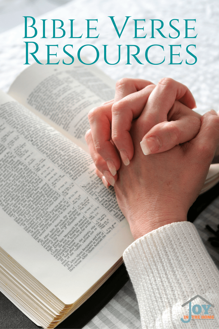 Great resources for the whole family! Bible verses for all ages, and perfect verses for parenting with faith focus child rearing.