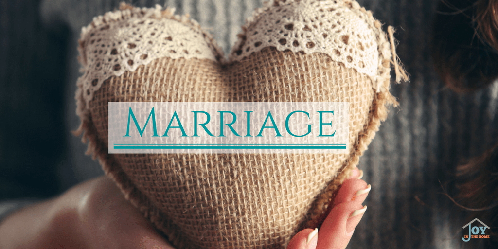 Marriage - Learning how to love and respect through the struggles and difficulties | www.joyinthehome.com