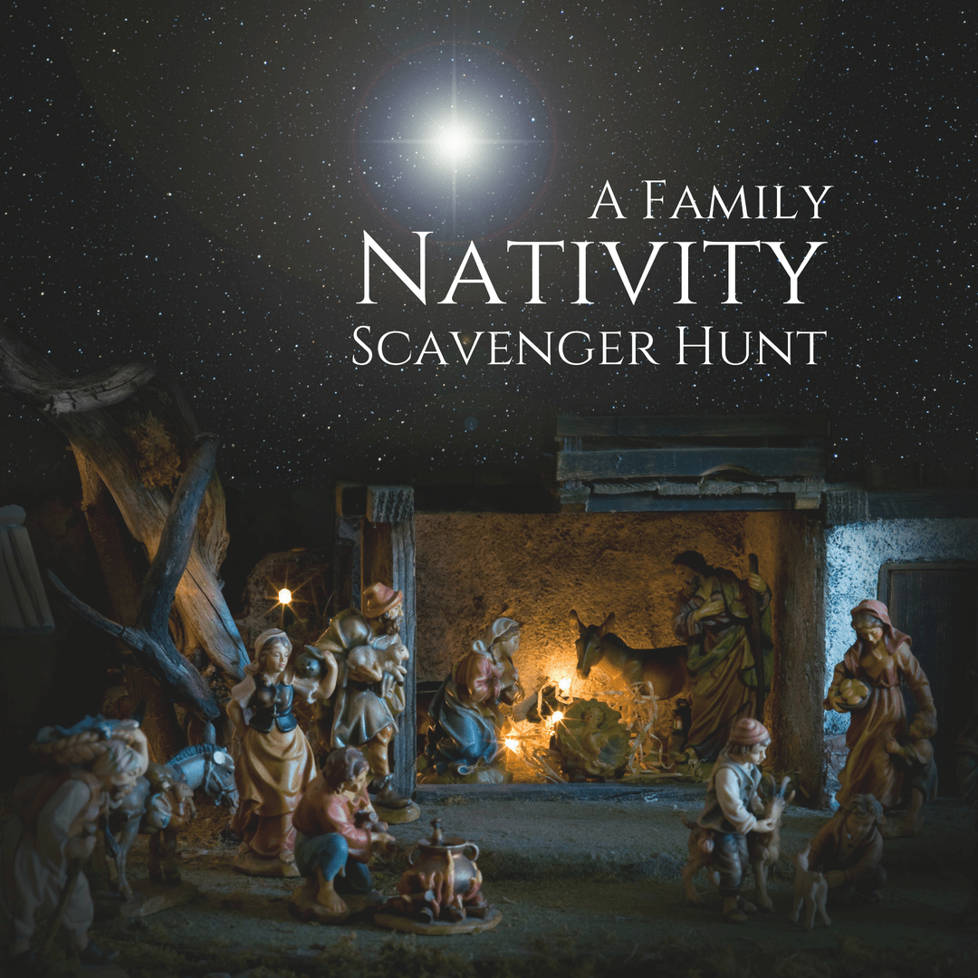 A Family Nativity Scavenger Hunt