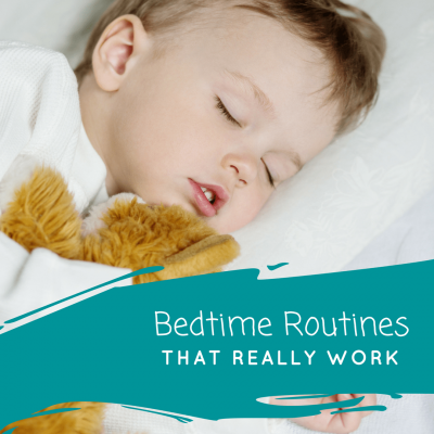 Bedtime routines that really work | www.joyinthehome.com