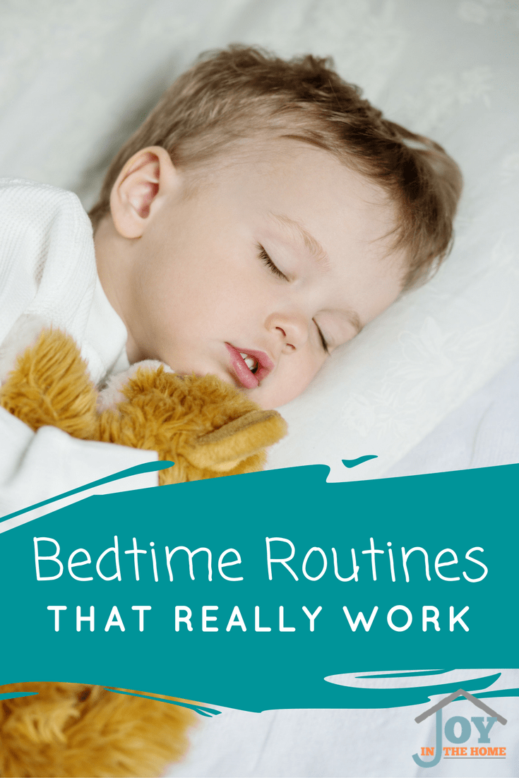 Bedtime routines can be hard, especially if you don't know what works well. Gain control of bedtime with these tried and proven tips.