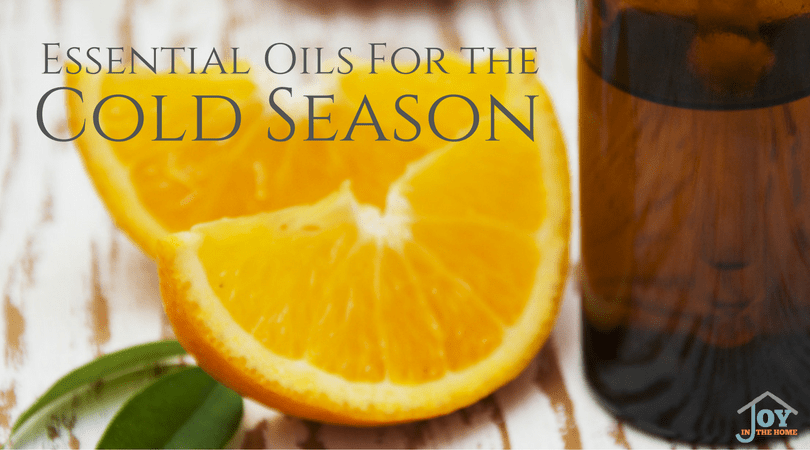Essential Oils for the Cold Season - Fight the common cold, strengthen your immune system with essential oils. | www.joyinthehome.com