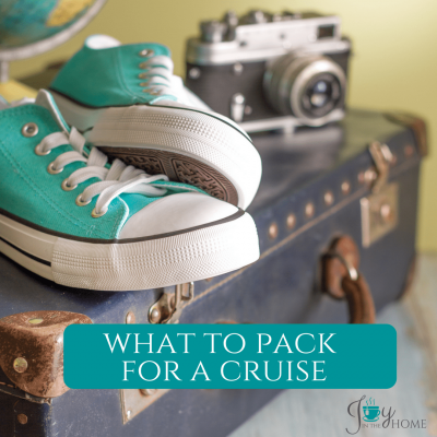 What to Pack for a Cruise - Pack what you need, and save space in your cabin. | www.joyinthehome.com