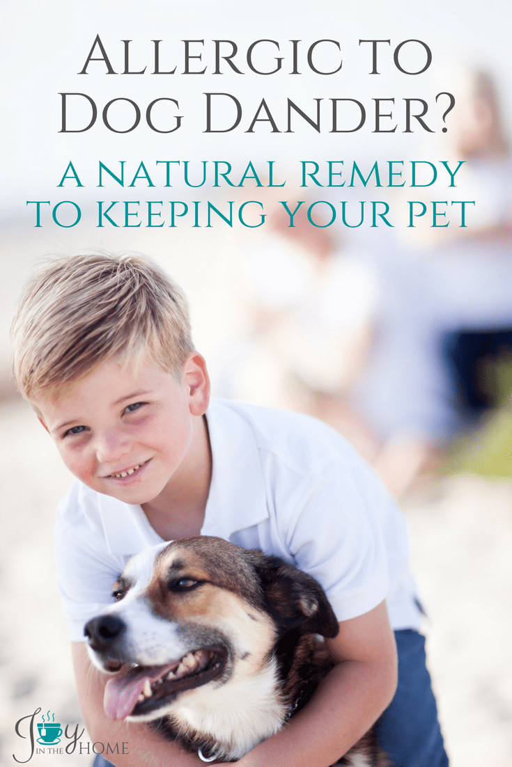 Allergic to dog dander? A Natural Remedy to Keeping Your Pet - How one family found a solution to a serious condition without having to get rid of their family dogs.