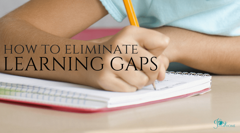 How to Eliminate Learning Gaps